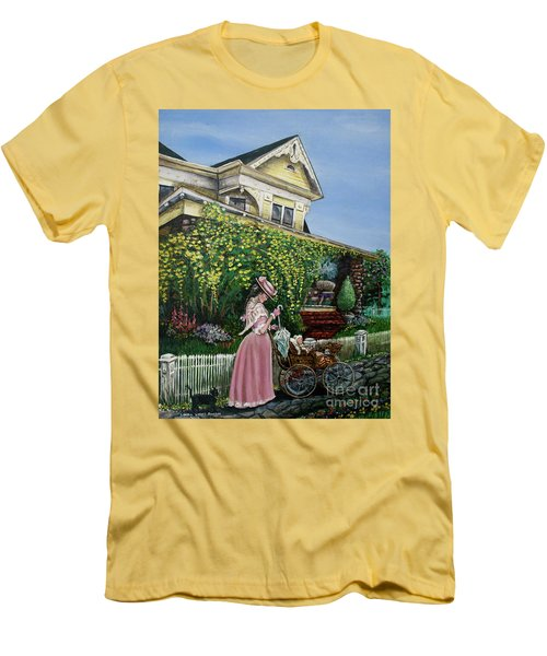 Behind The Garden Gate Men's T-Shirt (Slim Fit)