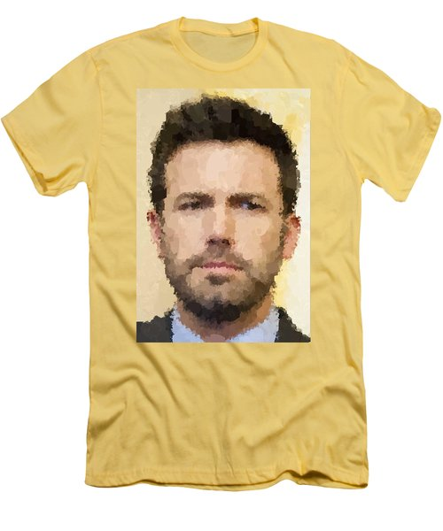 Ben Affleck Portrait Men's T-Shirt (Athletic Fit)