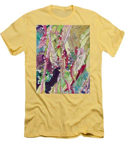 Berries And Cactus Men's T-Shirt (Athletic Fit)