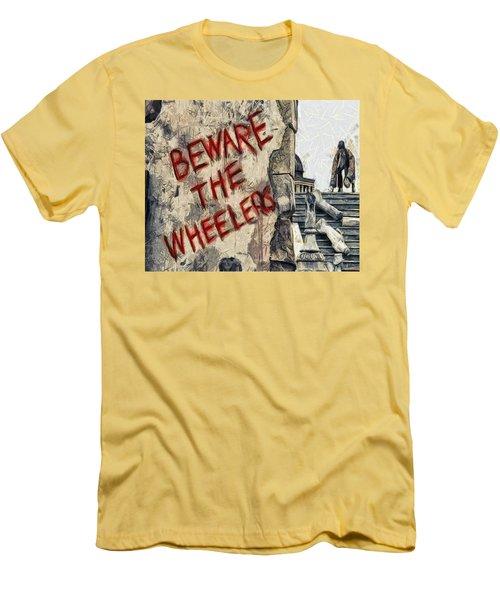 Beware The Wheelers Men's T-Shirt (Athletic Fit)