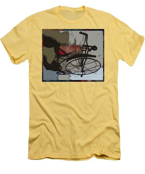 Bike Seat View Men's T-Shirt (Athletic Fit)