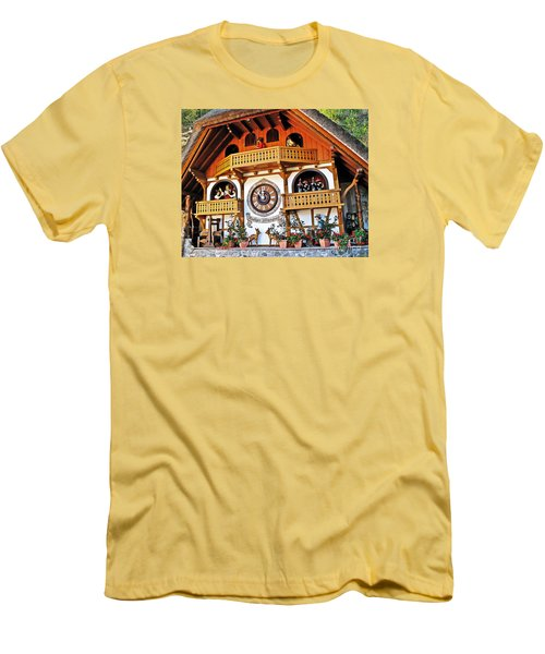 Blackforest Cuckoo Clock Men's T-Shirt (Athletic Fit)