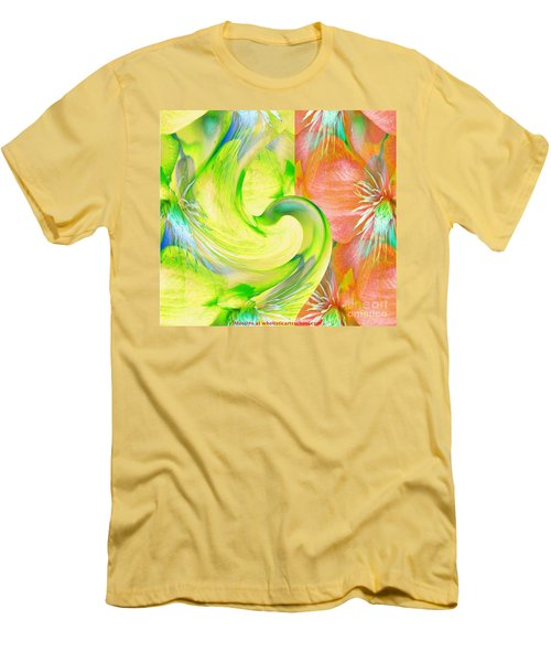 Bloom Dance  Men's T-Shirt (Slim Fit)