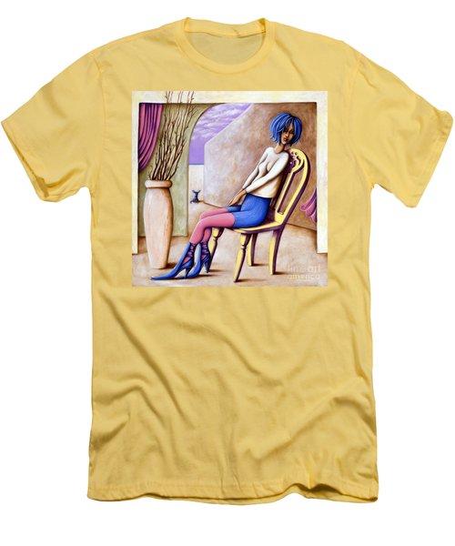 BLU Men's T-Shirt (Athletic Fit)