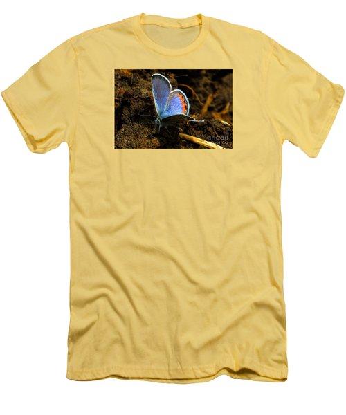 Blue Angel Men's T-Shirt (Slim Fit) by Janice Westerberg