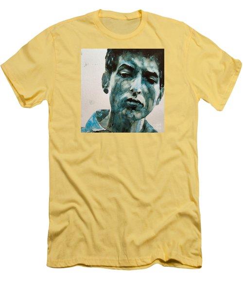 Bob Dylan Men's T-Shirt (Athletic Fit)
