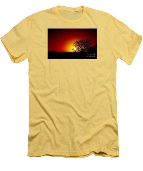 Breaking Dawn Men's T-Shirt (Slim Fit) by Amar Sheow