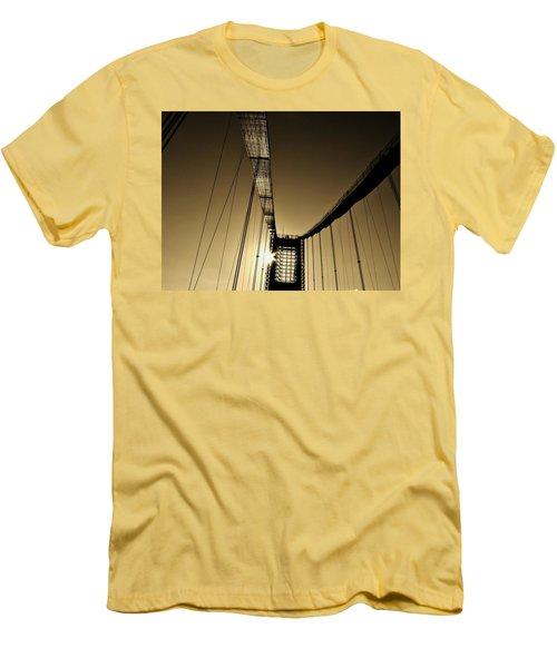 Bridge Work Men's T-Shirt (Slim Fit) by Robert Geary