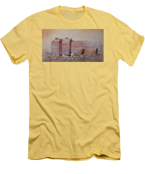 Broken Dock Seward Alaska Men's T-Shirt (Athletic Fit)