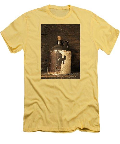 Buddy Bear Moonshine Jug Men's T-Shirt (Athletic Fit)