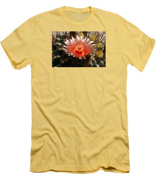Cactus Volcano #2 Men's T-Shirt (Slim Fit)