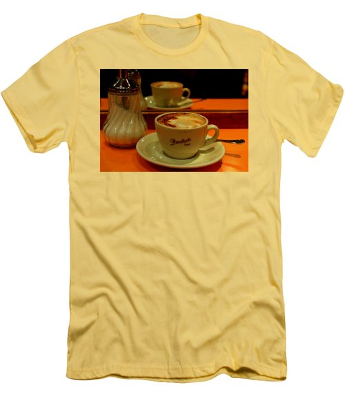 Cappuccino Men's T-Shirt (Athletic Fit)