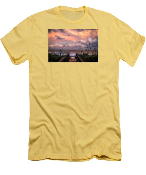 Carolina Dreams Men's T-Shirt (Slim Fit) by Karen Wiles