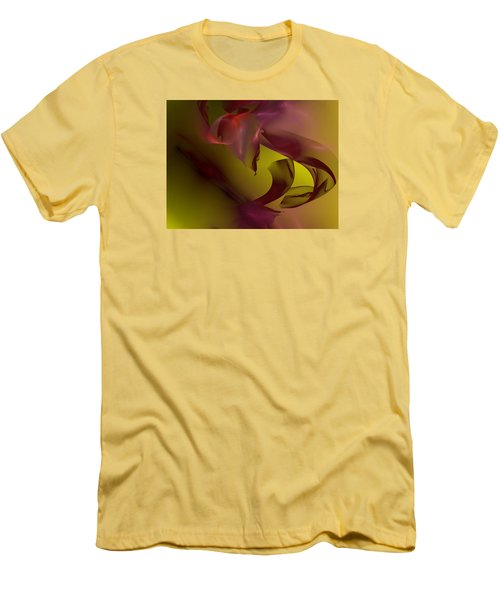 Men's T-Shirt (Slim Fit) featuring the digital art Cause An Effect by Jeff Iverson
