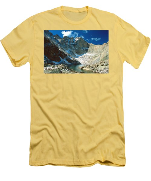Chasm Lake Men's T-Shirt (Slim Fit) by Eric Glaser