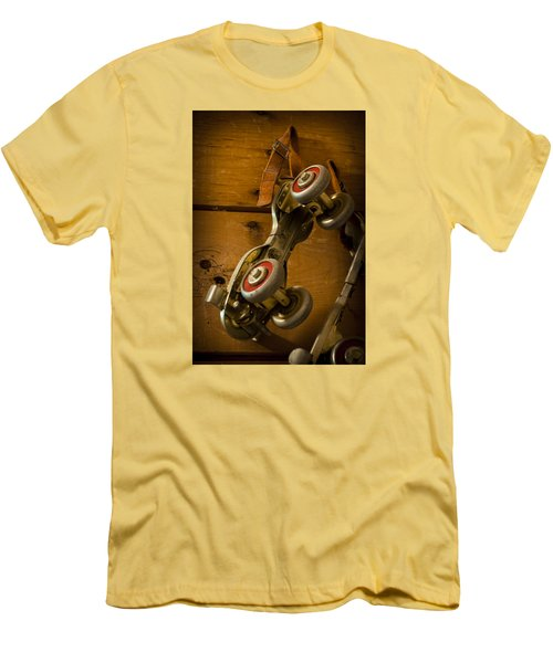 Men's T-Shirt (Slim Fit) featuring the photograph Childhood Moments by Fran Riley