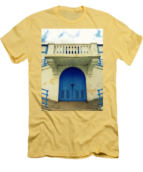 City Island Bath House Men's T-Shirt (Athletic Fit)