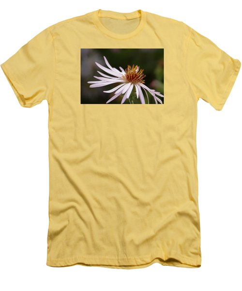 Men's T-Shirt (Slim Fit) featuring the photograph Climbing Aster by Paul Rebmann