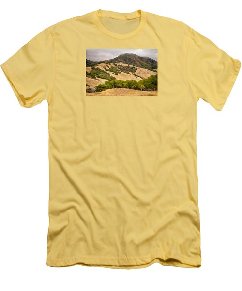 Coast Hills Men's T-Shirt (Slim Fit) by Alice Cahill