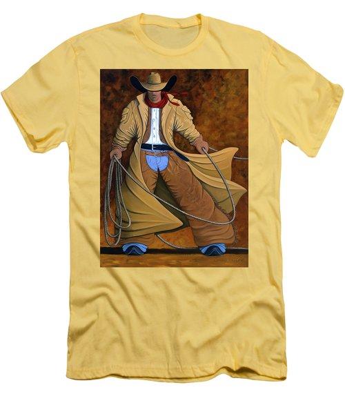 Cody Men's T-Shirt (Slim Fit) by Lance Headlee