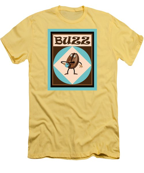 Coffee Buzz Men's T-Shirt (Athletic Fit)