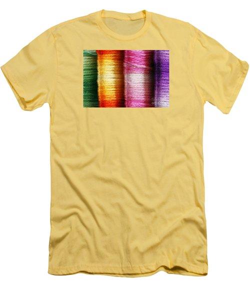 Colour Me Happy Men's T-Shirt (Slim Fit) by Wendy Wilton