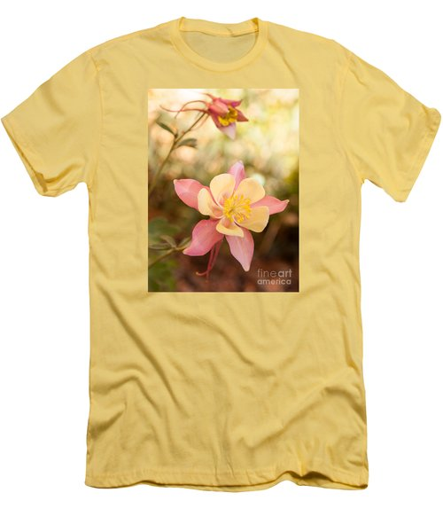 Men's T-Shirt (Slim Fit) featuring the photograph Columbine by Roselynne Broussard