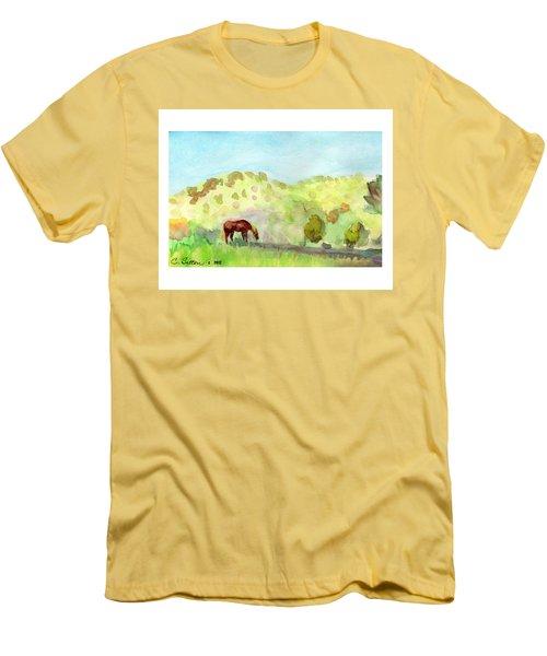 Cool Drink Men's T-Shirt (Slim Fit) by C Sitton