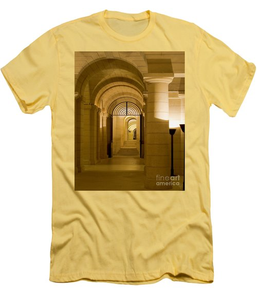 Corridors Men's T-Shirt (Slim Fit)