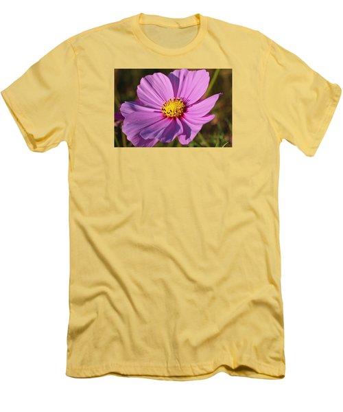 Cosmos Love Men's T-Shirt (Slim Fit) by Julie Andel