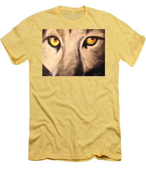 Cougar Eyes Men's T-Shirt (Athletic Fit)