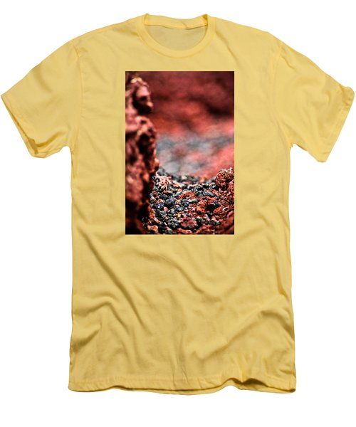 Men's T-Shirt (Slim Fit) featuring the photograph Craters Of The Moon 1 by Joel Loftus