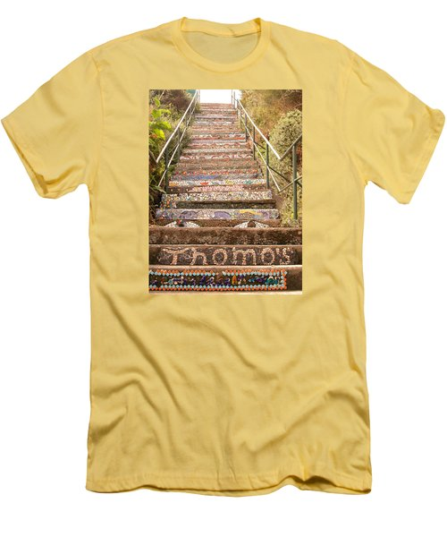 Creative Steps Men's T-Shirt (Athletic Fit)