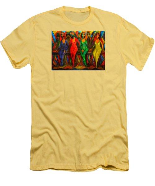 Cubism Dance  Men's T-Shirt (Athletic Fit)