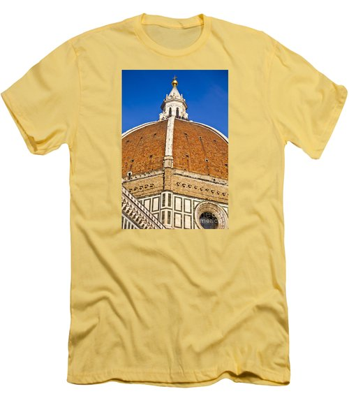 Cupola On Florence Duomo Men's T-Shirt (Athletic Fit)