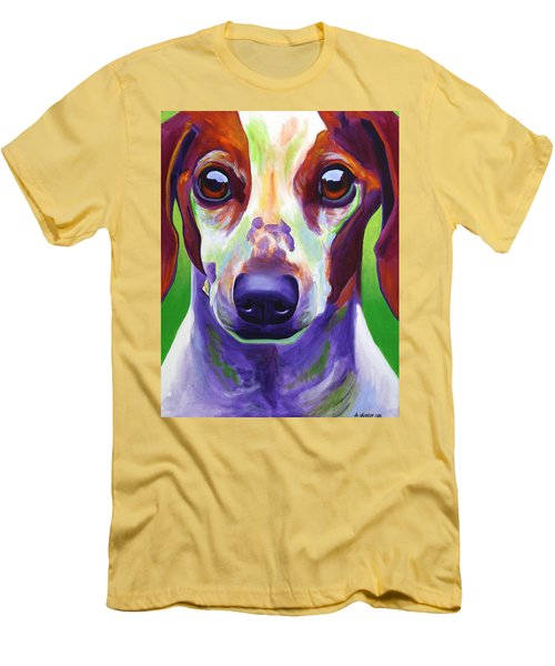 Dachshund - Cooper Men's T-Shirt (Athletic Fit)
