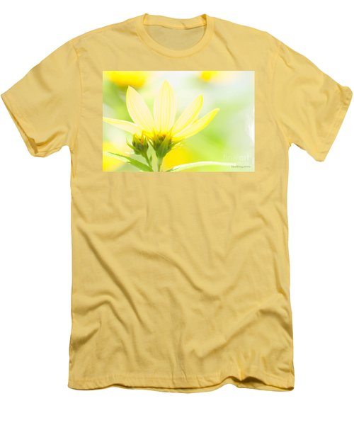 Daisies In The Sun Men's T-Shirt (Athletic Fit)