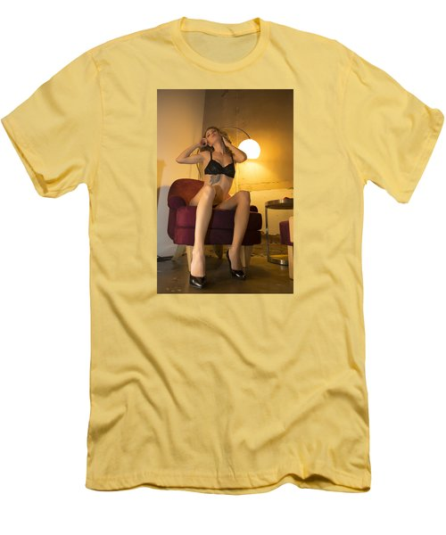 Men's T-Shirt (Slim Fit) featuring the photograph Deep Thoughts 0 by Mez