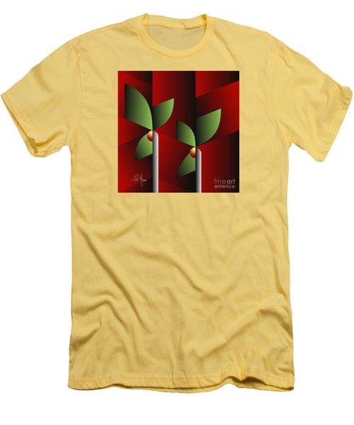 Digital Garden Men's T-Shirt (Athletic Fit)