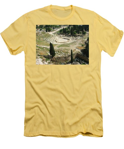 Dionysus Amphitheater Men's T-Shirt (Athletic Fit)