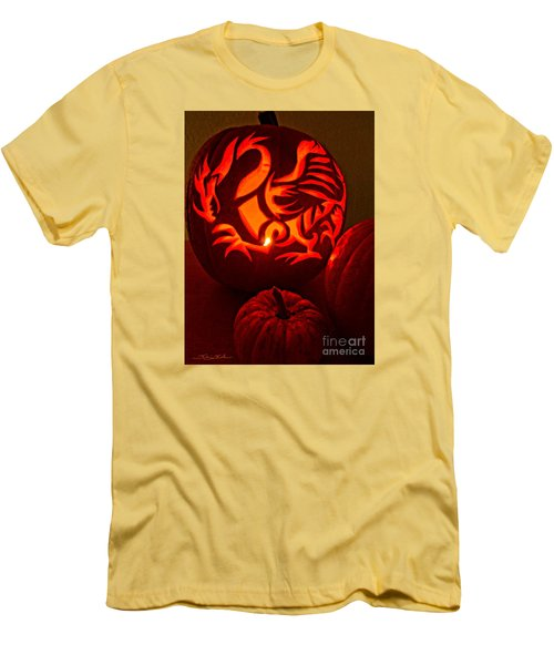 Dragon Lantern Men's T-Shirt (Athletic Fit)