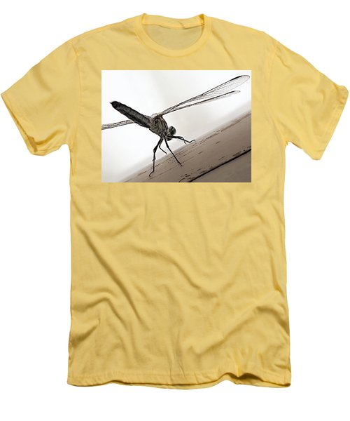 Dragon Of The Air  Men's T-Shirt (Slim Fit) by Micki Findlay