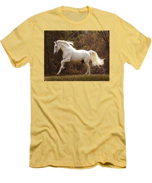 Dream Horse Men's T-Shirt (Slim Fit) by Melinda Hughes-Berland