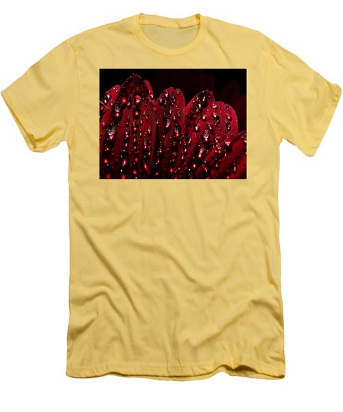 Due To The Dew Men's T-Shirt (Slim Fit) by Joe Schofield