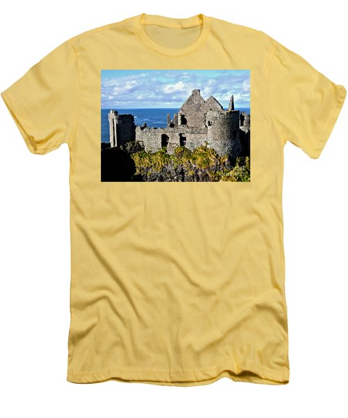 Dunluce Castle Men's T-Shirt (Athletic Fit)