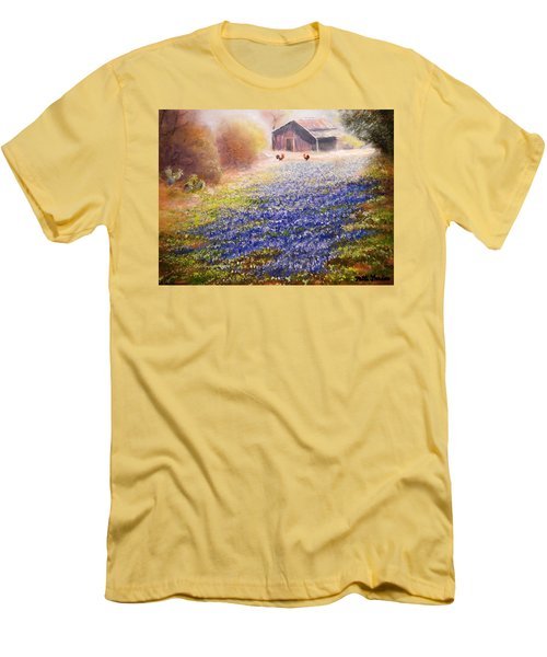 Early Morning Men's T-Shirt (Slim Fit) by Patti Gordon