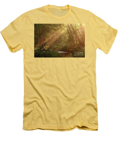 Eden...maybe. Men's T-Shirt (Slim Fit) by Douglas Stucky