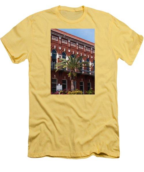 El Centro Espanol De Tampa Men's T-Shirt (Slim Fit) by Paul Rebmann