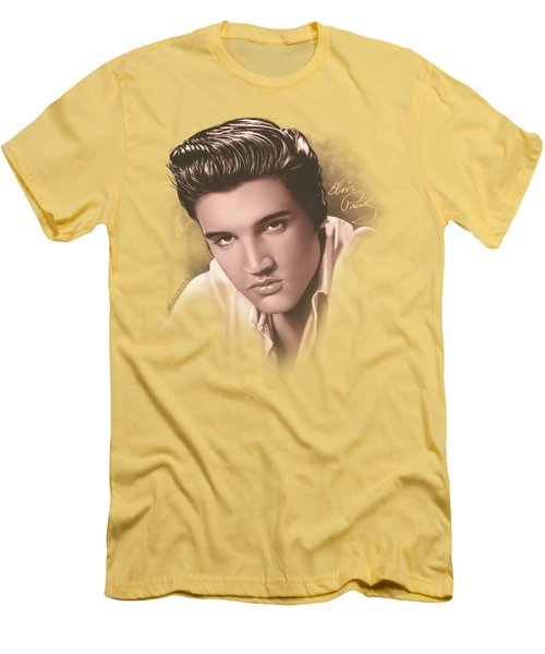 Elvis - The Stare Men's T-Shirt (Athletic Fit)