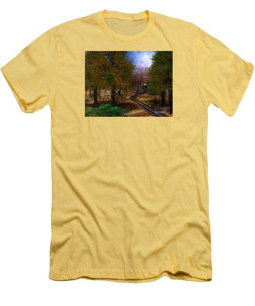 Emergence Men's T-Shirt (Slim Fit) by Shari Nees